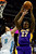 Los Angeles Lakers center Jordan Hill (27) grabs a rebound away from Denver Nuggets small forward Danilo Gallinari (8) during the second half of the Nuggets' 126-114 win at the Pepsi Center on Wednesday, December 26, 2012. AAron Ontiveroz, The Denver Post