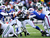 Shonn Greene #23 of the New York Jets runs against the Buffalo Bills at Ralph Wilson Stadium on December 30, 2012 in Orchard Park, New York.  (Photo by Rick Stewart/Getty Images)