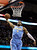 Denver Nuggets Andre Iguodala winds up for a dunk during the first quarter of their NBA basketball game against the Cleveland Cavaliers in Cleveland, February 9, 2013.REUTERS/Aaron Josefczyk