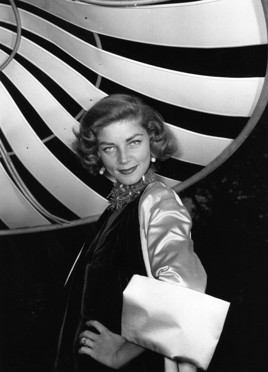 . FILE - AUGUST 12: It has been reported that actress Lauren Bacall has died of a stroke. She was 89 years old. 1954:  US actress Lauren Bacall.  (Photo by Baron/Getty Images)