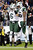 New York Jets tight end Jeff Cumberland (86) celebrates with quarterback Mark Sanchez (6) after Cumberland scored a touchdown on a 17-yard pass from Sanchez in the third quarter of an NFL football game against the Tennessee Titans, Monday, Dec. 17, 2012, in Nashville, Tenn. (AP Photo/Wade Payne)
