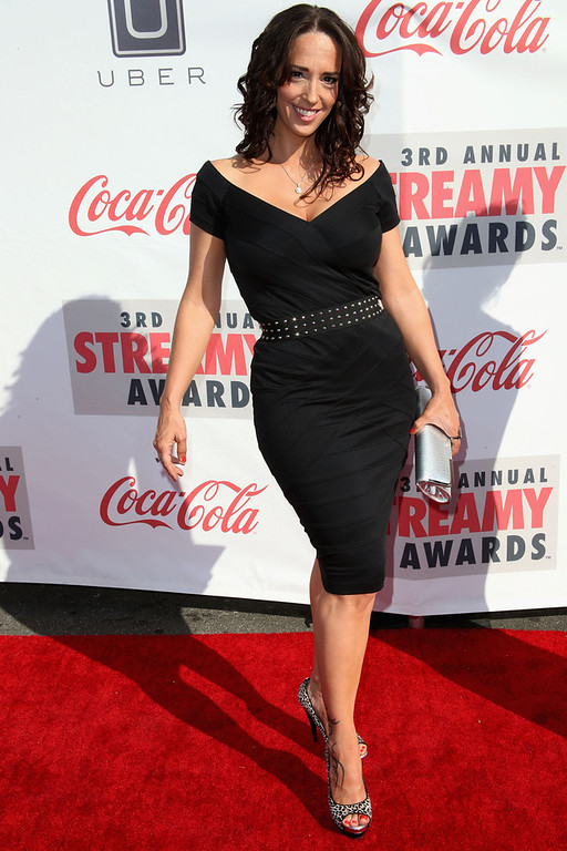 Description of . Lauren Paul attends the 3rd Annual Streamy Awards at Hollywood Palladium on February 17, 2013 in Hollywood, California.  (Photo by Frederick M. Brown/Getty Images)