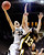 Colorado's Arielle Roberson (32) shoots over Wyoming's Ashley Sickles (13) during their NCAA college basketball game, Wednesday, Nov. 28, 2012, in Boulder, Colo. (AP Photo/The Daily Camera, Jeremy Papasso)