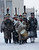 Historical re-enactors dressed as 1812-era Russian imperial soldiers march during a reenactment of the French Invasion of Russia in 1812, during celebrations to mark the Russian Orthodox Christmas in St. Petersburg, Russia, Monday, Jan. 7, 2013.  Christmas falls on Jan. 7 for Orthodox Christians who rely on the old Julian calendar rather than the  Gregorian calendar adopted by Catholics and Protestants and commonly used in secular life around the world. (AP Photo/Dmitry Lovetsky)