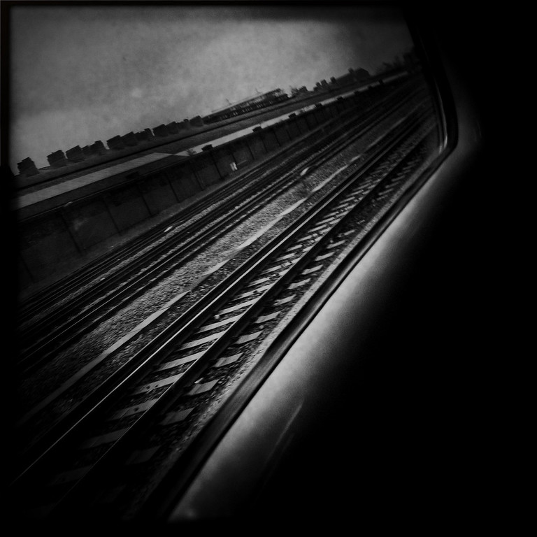 Description of . A railroad track on May 3, 2012 in London, England. Shot in April 2012 ahead of the London 2012 Olympics. (Photo by Vittorio Zunino Celotto/Getty Images)