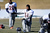 Denver Broncos cornerback Omar Bolden (31) stretches during practice Thursday, January 3, 2013 at Dove Valley.  John Leyba, The Denver Post