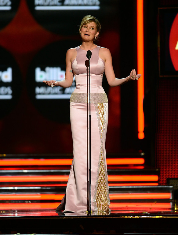 . Musician Jennifer Nettless speaks onstage during the 2013 Billboard Music Awards at the MGM Grand Garden Arena on May 19, 2013 in Las Vegas, Nevada.  (Photo by Ethan Miller/Getty Images)