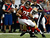 Tight end Tony Gonzalez #88 of the Atlanta Falcons runs after a catch against inside linebacker Patrick Willis #52 of the San Francisco 49ers in the first quarter in the NFC Championship game at the Georgia Dome on January 20, 2013 in Atlanta, Georgia.  (Photo by Chris Graythen/Getty Images)