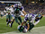 Brian Jackson #12 of the Oregon Ducks tackles Chris Harper #3 of the Kansas State Wildcats in the second quarter of the Tostitos Fiesta Bowl at University of Phoenix Stadium on January 3, 2013 in Glendale, Arizona.  (Photo by Ezra Shaw/Getty Images)