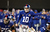 Eli Manning #10 of the New York Giants gestures at the line during their game against the New Orleans Saints  at MetLife Stadium on December 9, 2012 in East Rutherford, New Jersey.  (Photo by Jeff Zelevansky/Getty Images)