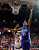 Air Force's Kyle Green (25) shoots over UNLV's Bryce Dejean-Jones (13) during the first half of a Mountain West Conference tournament NCAA college basketball game, Wednesday, March 13, 2013, in Las Vegas. UNLV won 72-56. (AP Photo/Isaac Brekken)
