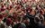U.S. President Barack Obama greets troops at Fort Bragg in North Carolina December 14, 2011. The visit was seen as marking the end of the Iraq war with a tribute to the troops who fought and died in a conflict Obama opposed from the start. REUTERS/Kevin Lamarque