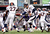 Denver Broncos quarterback Peyton Manning (18) hands off to Denver Broncos running back Knowshon Moreno (27) during the second quarter Sunday, December 16, 2012 at M&T Bank Stadium. John Leyba, The Denver Post