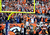 DENVER - Denver Broncos wide receiver Demaryius Thomas dunks the ball over the goalpost after scoring a touchdown in the third quarter against Tampa Bay Sunday at Sports Authority Field. Steve Nehf, The Denver Post