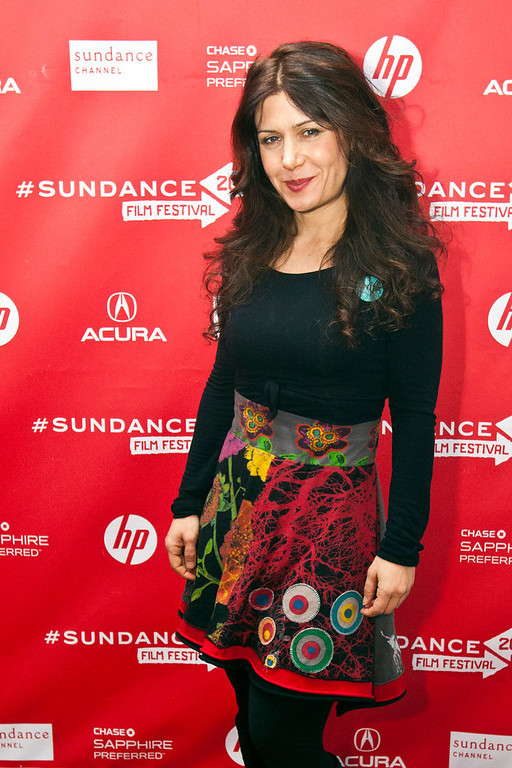 Description of . Chris Detrick  |  The Salt Lake Tribune Composer Lili Haydn poses for pictures before the premiere of 'Anita' during the 2013 Sundance Film Festival in Park City, Utah Saturday January 19, 2013