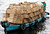 A riverboat loaded with empty boxes pulls out from the port of Manaus in the Amazonas March 13, 2007.   REUTERS/Paulo Whitaker