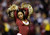 LANDOVER, MD - DECEMBER 30:  A Washington Redskins cheerleader performs during their game against the Dallas Cowboys at FedExField on December 30, 2012 in Landover, Maryland.  (Photo by Rob Carr/Getty Images)