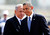 U.S. President Barack Obama (R) and Israeli Prime Minister Benjamin Netanyahu walk during an official welcoming ceremony at Ben Gurion International Airport near Tel Aviv March 20, 2013.REUTERS/Nir Elias