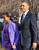 US President Barack Obama and his daughter Sasha leave St. John's Church on January 21, 2013 in Washington, DC, hours before Obama participates in a ceremonial swearing in for a second term in office.  NICHOLAS KAMM/AFP/Getty Images