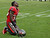 Tampa Bay Buccaneers cornerback Danny Gorrer (36) reacts after the Philadelphia Eagles scored the game-winning touchdown with no time left on the clock during the fourth quarter of an NFL football game Sunday, Dec. 9, 2012, in Tampa, Fla. The Eagles won the game 23-21. (AP Photo/Chris O'Meara)