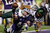 Byron Marshall #9 of the Oregon Ducks tackles Ryan Mueller #44 of the Kansas State Wildcats in the endzone on a blocked extra point attempt that resulted in a safety during the Tostitos Fiesta Bowl at University of Phoenix Stadium on January 3, 2013 in Glendale, Arizona.  (Photo by Ezra Shaw/Getty Images)