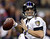 Baltimore Ravens quarterback Joe Flacco (5) looks to throw a pass during the first half of the NFL Super Bowl XLVII football game against the San Francisco 49ers in New Orleans on Feb. 3, 2013.   (AP Photo/Evan Vucci, FIle)