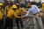 President Obama visits firefighters and views the damage to the Mountain Shadows neighborhood from the Waldo Canyon fire in Colorado Springs Friday, June 29, 2012.   Joe Amon, The Denver Post