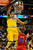 Denver Nuggets center JaVale McGee (34) dunks on Los Angeles Clippers shooting guard Willie Green (34) during the first half at the Pepsi Center on Tuesday, January 1, 2013. There was no basket on the play. AAron Ontiveroz, The Denver Post