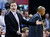 Oklahoma City Thunder head coach Scott Brooks gestures during the fourth quarter of an NBA basketball game against the Denver Nuggets n Oklahoma City, Tuesday, March 19, 2013. Denver won 114-104. (AP Photo/Sue Ogrocki)