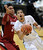 Andre Roberson of Colorado goes o the basket past Josh Huestis of Stanford during the second half of the January 24th, 2013 game in Boulder.