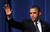 NEWTOWN, CT - DECEMBER 16:  U.S. President Barack Obama waves after speaking at an interfaith vigil for the shooting victims from Sandy Hook Elementary School on December 16, 2012 at Newtown High School in Newtown, Connecticut. Twenty-six people were shot dead, including twenty children, after a gunman identified as Adam Lanza opened fire at Sandy Hook Elementary School. Lanza also reportedly had committed suicide at the scene. A 28th person, believed to be Nancy Lanza, found dead in a house in town, was also believed to have been shot by Adam Lanza. (Photo by Olivier Douliery-Pool/Getty Images)