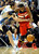 DENVER, CO - JANUARY 18: Denver center Kosta Koufos (41) was forced to foul Washington guard John Wall (2) with 2.7 second to go in the game. The Washington Wizards defeated the Denver Nuggets 112-108 at the Pepsi Center Friday night, January 18, 2013. Karl Gehring/The Denver Post