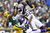 Harrison Smith #22 of the Minnesota Vikings intercepts a pass intended for Greg Jennings #85 of the Green Bay Packers during the game at Lambeau Field on December 2, 2012 in Green Bay, Wisconsin. The Packers won 23-14. (Photo by Joe Robbins/Getty Images)