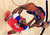 NBA All-Star Dwight Howard of the Los Angeles Lakers (L) and Chris Bosh of the Miami Heat (R) look for a rebound in the second half during the 2013 NBA All-Star basketball game in Houston, Texas, February 17, 2013.  REUTERS/Lucy Nicholson (UNITED STATES  - Tags: SPORT BASKETBALL)