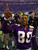 06 Jan 2001:  Wide receiver Cris Carter #80 of the Minnesota Vikings celebrates after defeating the New Orleans Saints at the Metrodome in Minneapolis, Minnesota.   The Vikings won 34-16 to advance to the NFC Championship.  Mandatory Credit: Brian Bahr/ALLSPORT