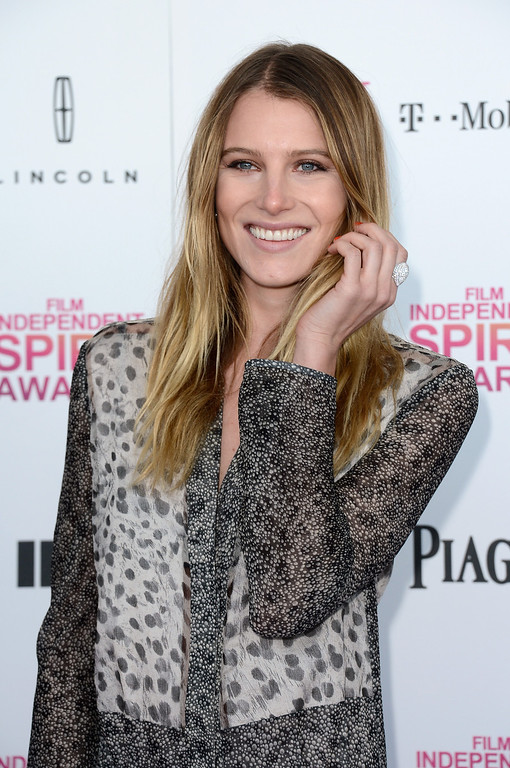 Description of . SANTA MONICA, CA - FEBRUARY 23:  Actress Dree Hemingway attends the 2013 Film Independent Spirit Awards at Santa Monica Beach on February 23, 2013 in Santa Monica, California.  (Photo by Frazer Harrison/Getty Images)