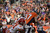 Denver Broncos wide receiver Eric Decker (87) catches a touchdown pass in the first quarter as the Denver Broncos took on the Kansas City Chiefs at Sports Authority Field at Mile High in Denver, Colorado on December 30, 2012. Joe Amon, The Denver Post