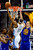 Denver Nuggets small forward Corey Brewer (13) drives against Golden State Warriors power forward David Lee (10) during the second half of the Nuggets' 116-105 win at the Pepsi Center on Sunday, January 13, 2013. AAron Ontiveroz, The Denver Post