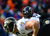 Baltimore Ravens inside linebacker Ray Lewis (52) lines up in the first quarter. The Denver Broncos vs Baltimore Ravens AFC Divisional playoff game at Sports Authority Field Saturday January 12, 2013. (Photo by AAron  Ontiveroz,/The Denver Post)