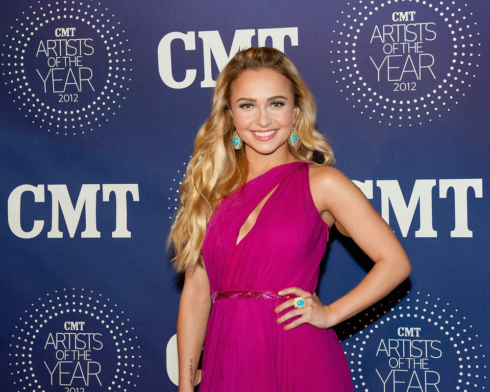 Description of . Hayden Panettiere attends the 2012 CMT