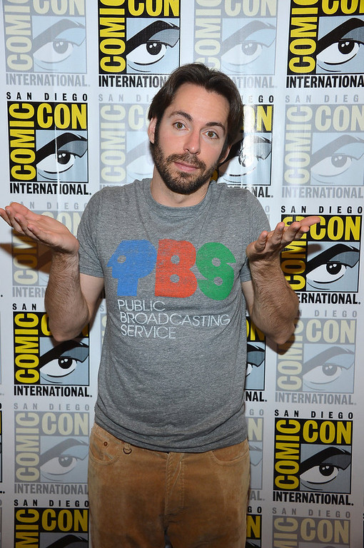 "Description of . Actor Martin Starr attends ""Adult Swim - National Terrorism Strike Force: San Diego Sport Utility Vehicle\"" during Comic-Con International 2012 held at the Hilton San Diego Bayfront Hotel on July 13, 2012 in San Diego, California.  (Photo by Frazer Harrison/Getty Images)"