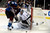 DENVER, CO. - JANUARY 22: Colorado Avalanche left wing Patrick Bordeleau (58) works the puck as Los Angeles Kings goalie Jonathan Quick (32) defends the net during the first period. The Colorado Avalanche hosted the Los Angeles Kings at the Pepsi Center on January, 22, 2013.   (Photo By John Leyba / The Denver Post)