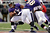 Baltimore Ravens running back Ray Rice #27 gains yards against the Broncos early in their game at the M&T Bank Stadium, in Baltimore , MD Sunday December 16, 2012.      Joe Amon, The Denver Post