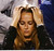 Kim Sears, girlfriend of Andy Murray of Britain, watches his men's singles final match against Novak Djokovic of Serbia at the Australian Open tennis tournament in Melbourne January 27, 2013. Djokovic became the first man to win three successive Australian Open titles in the professional era when he defeated Murray on Sunday.  REUTERS/Tim Wimborne