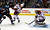 DENVER, CO. - FEBRUARY 11: Mike Smith (41) of the Phoenix Coyotes makes a save on a shot by during the third period February 11, 2013 at Pepsi Center. David Jones (54) of the Colorado Avalanche looks for the rebound as Derek Morris (53) of the Phoenix Coyotes defends on the play. The Phoenix Coyotes defeated the Colorado Avalanche 3-2 on a Shane Doan (19) shot to beat Semyon Varlamov with 1:00 min left in overtime. (Photo By John Leyba/The Denver Post)