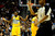 Denver Nuggets small forward Kenneth Faried (35) questions a call during the first half at the Pepsi Center on Monday, December 3, 2012. AAron Ontiveroz, The Denver Post
