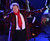 Singer Rod Stewart performs at the 80th Annual Rockefeller Center Christmas Tree Lighting Ceremony on November 28, 2012 in New York City.  (Photo by Stephen Lovekin/Getty Images)