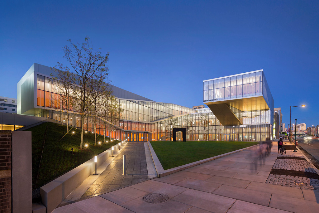 Description of . UPENN, Singh Center for Nanotechnology, Location: Philadelphia PA, Architect: Weiss/Manfredi Architects