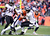 Denver Broncos cornerback Omar Bolden (31) takes down Baltimore Ravens wide receiver Tandon Doss (17) after he catches a punt in the second quarter. The Denver Broncos vs Baltimore Ravens AFC Divisional playoff game at Sports Authority Field Saturday January 12, 2013. (Photo by AAron  Ontiveroz,/The Denver Post)