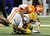 ATLANTA, GA - DECEMBER 31:  Quandon Christian #34 of the Clemson Tigers sacks Zach Mettenberger #8 of the LSU Tigers during the 2012 Chick-fil-A Bowl at Georgia Dome on December 31, 2012 in Atlanta, Georgia.  (Photo by Kevin C. Cox/Getty Images)